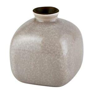 47th & Main AMR564 Ceramic Bud Vase, Mini, Grey
