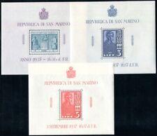 SAN MARINO 1937 BLOCK1-3 ** POSTFRISCH TADELLOS 65€(I1935