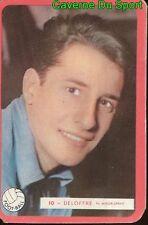 010 JEAN DELOFFRE RC.LENS FOOTBALL CARTE MIROIR SPRINT 1960's RARE