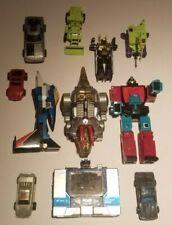Vintage 1980's G1 Transformers Lot - 11 PCS - Wow!