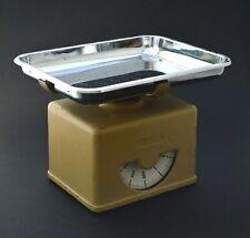Antique Vintage Kitchen counter scale modern 60s kg metal cromed  -e--