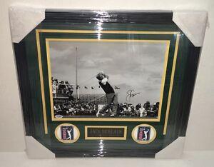 PSA/DNA Masters JACK NICKLAUS Signed Autographed FRAMED 11x14 Golf Photo