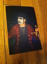 KING DIAMOND one of a kind Photo Heavy METAL Concert MERCYFUL FATE Cult Black