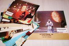 STAR TREK  4  !   jeu 12 photos cinema lobby cards science fiction
