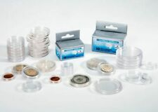 10 Capsules pour pièces de monnaie diamètre au choix 16 à 41 millimètres