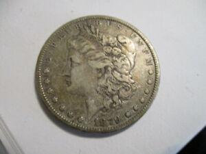 #78 Vintage Original 1879 Morgan Silver Dollar Very Nice!