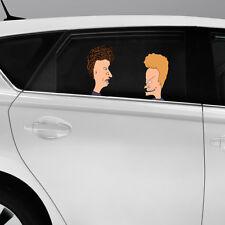 Beavis And Butt-head conjunto Color Vinilo calcomanía auto pared del dormitorio de la ventana de Sticker De Regalo