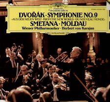 Dvorak, smetana, very rare DGG DIGITAL 1985 LP, Karajan/philharmonique de vienne