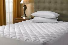 30cm Extra Deep Quilted Mattress Protector Double Poly Cotton Cover Fitted Sheet