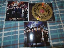 SUPER JUNIOR AUTOGRAPHED CD OPERA Heechul leeteuk Kyuhyun Donghae Eunhyuk siwon