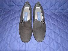 Women's Karen Scott Riley Black Suede Heels Shoes Size 6.5 Medium Width