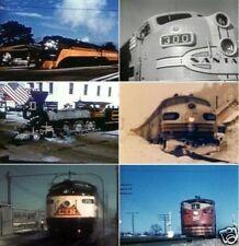 Railroad Passenger Transport Trains 1940s To 1950s Historical Vintage Films DVD