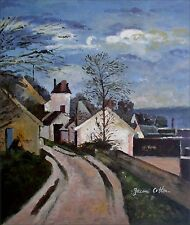 Hand Painted Oil Painting Repro Paul Cezanne The House of Dr. Gachet 20x24in