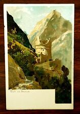 RIVA ITALY DIE BASTION Lithograph Postcard ca.1907