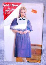 Vintage Butterick #5086 Misses Dress Sz 14-16-18