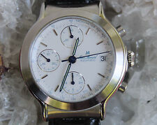 Jean Marcel Chronograph Date Valjoux 7750 Automatik Glasboden Herrenuhr Limited