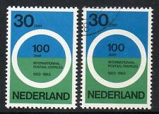 NETHERLANDS MNH & CTO USED 1963 International Post Conference Paris