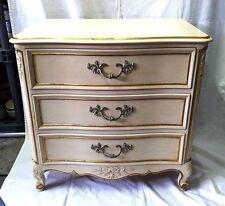 Vintage KINDEL Furniture French Provincial 3 Drawer Nightstand Grand Rapids, MI