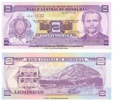 Honduras 2 lempiras 2004 P-80Ae Billetes Unc