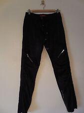 Sz. 4 BCBG MAXAZRIA  Skinny Satin Jeans Black  Pants