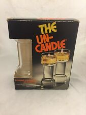 Vintage The Un-Candle Set, 7 in. Never used,In box.
