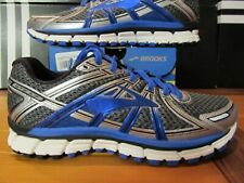 Brooks Adrenaline GTS 17 $120 Electric Blue Silver 8 2E WIDE WIDTH Running Shoes