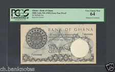 Ghana 1000 Cedis ND 1965 P9A Essay Face Proof Specimen Uncirculated