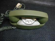 Old Vtg 1970s Western Electric ROTARY DIAL OLIVE GREEN  PRINCESS TELEPHONE Phone