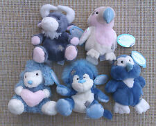 """5"""" MY BLUE NOSE FRIENDS - COLLECTION OF FIVE SOFT PLUSH TOYS."""