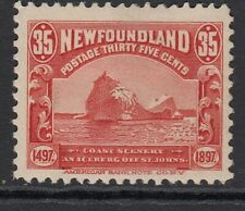 NEWFOUNDLAND 1897 35c red SG78 - mounted mint