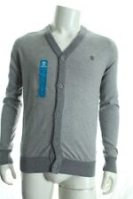 Timberland A1pxh Men's Grey Cardigan Soft Handfeel Sweater