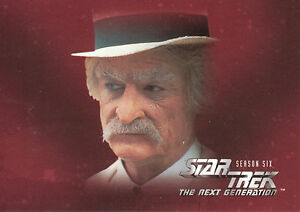 Star Trek: TNG Season 6 Trading Card Set (108 Cards)