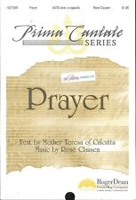 Mother Teresa Prayer Sheet Music SATB A Capella Voice 2009 Clausen Yale Alumni