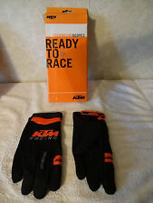 KTM RACING  MENS MECHANIC TECHNICIAN GLOVES BLACK ORANGE XXL 12 2XL 3B75716 NEW