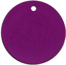 EMF Electromagnetic Fields Protection Tesla Purple Energy Small Round Plate