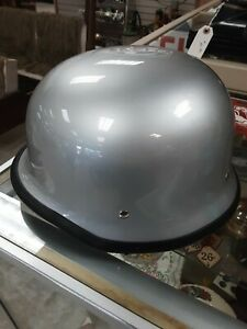 DOT Motorcycle German Half Face Racing Helmet For Chopper Cruiser Scooter Small