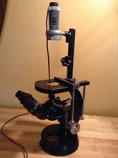Vintage Carl Zeiss Opton Inverted Microscope 4288139
