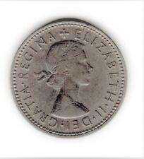 pieces anglaise one shilling 1963 un lion