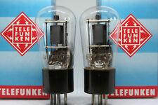 TUBE TELEFUNKEN REN904 matched pair nos nib <> röhre PREAMP amplifier vintage