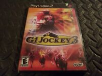 G1 Jockey 3 (Playstation 2 PS2) Game Brand New Factory Sealed! promo * Rare