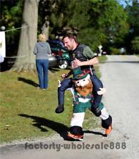Carry Me Bavarian Beer Guy V2 Mascot Piggyback Costume Oktoberfes ride-on dress