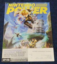 2009 Nintendo Power Magazine #245 September Wii Final Fantasy Crystal High Grade