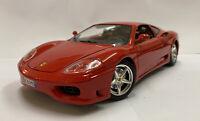 1/18 1999 Vintage Bburago Burago Ferrari 360 Modena, Red, Mint & Boxed!