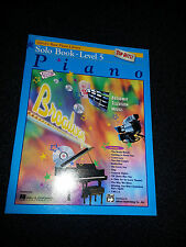 ALFRED'S BASIC PIANO LIBRARY SOLO BOOK LEVEL 5