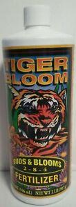 Fox Farm Tiger Bloom Fertilizer 1 Quart - 2-8-4 - On Sale   Free Shipping