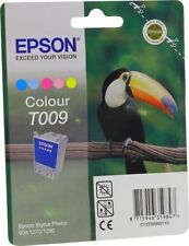 Epson T009 Ink Color for Stylus Photo 900 1270 1290 C13T009401 OVP