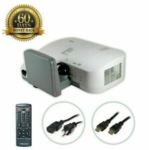 NEC U300X DLP Projector Ultra Short-Throw 3000 LM HD 1080i HDMI w/Accessories