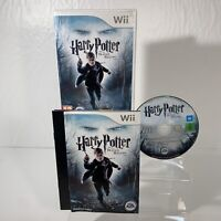 Harry Potter and The Deathly Hallows - Part 1 (Nintendo Wii, 2010) - Complete