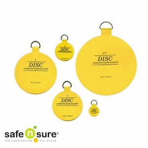 Safe N Sure Adhesive Disc, Invisible Plate Hanger, Made in England over 40 years