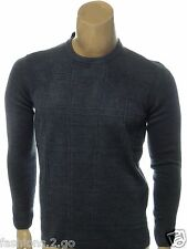TRICOTS ST RAPHAEL NEW $65.00 MARINE BLUE CASUAL CREWNECK SWEATER sz XXL 2XL